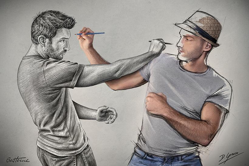 Sketch Fight