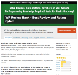WP Review Bank